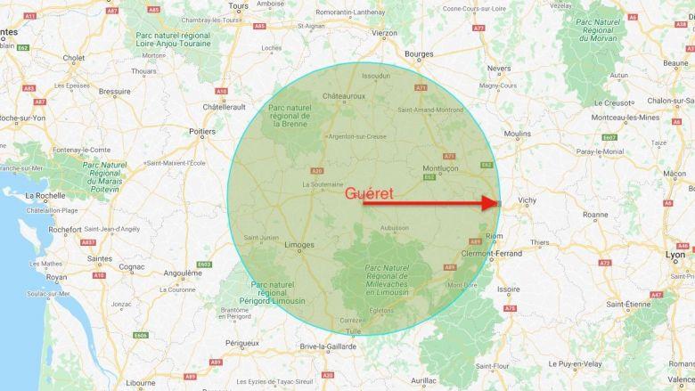 100 kilomètres autour de Guéret / © Pascal Coussy : France Télévisions
