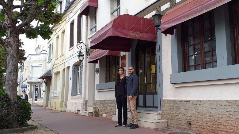 Rachid et Maha Oumakhlouf ont racheté l'hôtel Chantilly, à Deauville, l'an dernier / © Rachid et Maha Oumakhlouf
