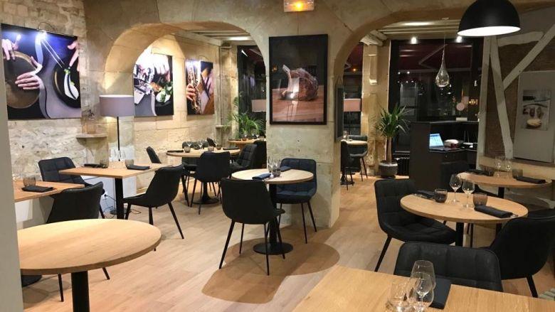 La salle de l'Accolade, restaurant crée par Pierre Lefebvre / © Pierre Lefebvre