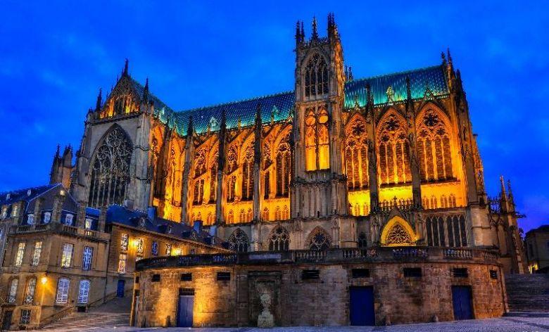La cathédrale Saint-Etienne de Metz est un des monuments les plus visités du Grand Est / © Studio Hussenot