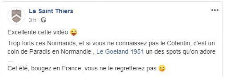 Des restaurateurs de toute la France ont commenté l'humour de l'équipe du Goéland 1951. / © FTV