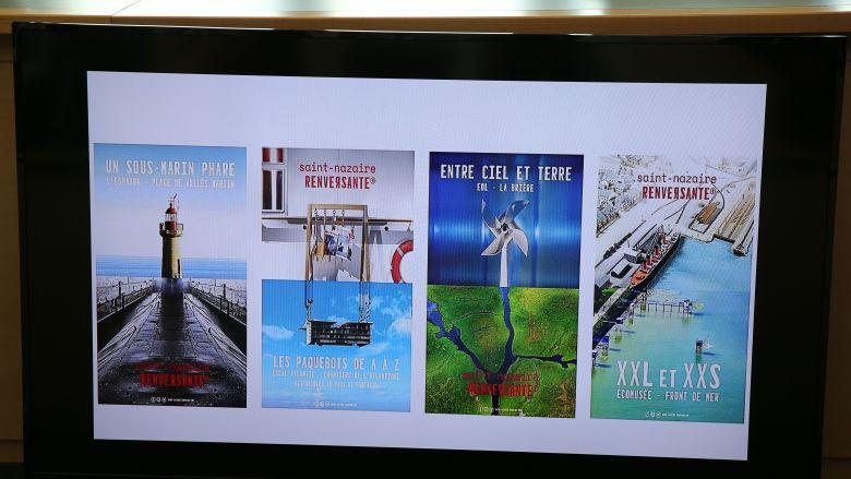 Quatre visuels ont été choisis pour cette campagne 2020, réunissant différents sites attractifs du bassin nazairien / © France Televisions C.François