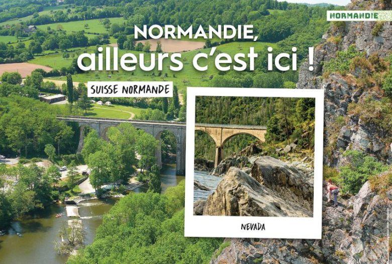 La campagne de promotion touristique de la Normandie est prévue jusqu'au mois de septembre. / © Région Normandie