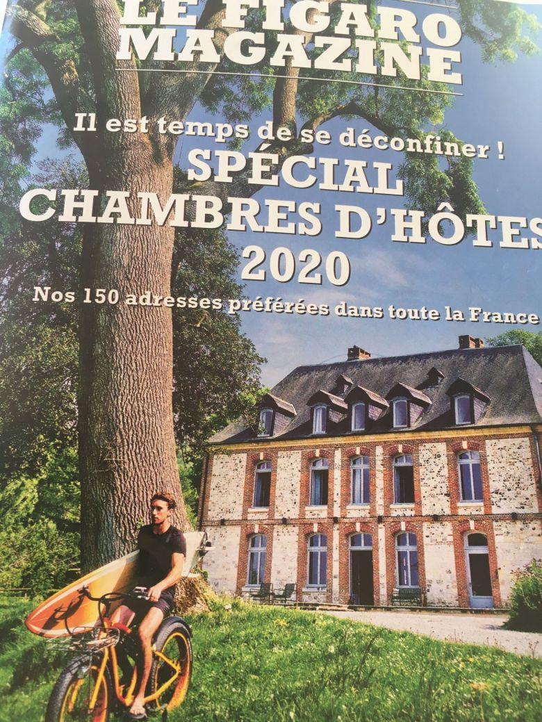 Trois sites de chambres d'hôtes du Limousin mis en avant par le Figaro Magazine du 16 mai 2020