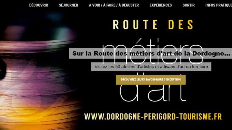 Pas d'évocation du Coronavirus sur le site du Comité Départemental du Tourisme de Dordogne qui prépare un plan de communication pour attirer les touristes français pendant l'été