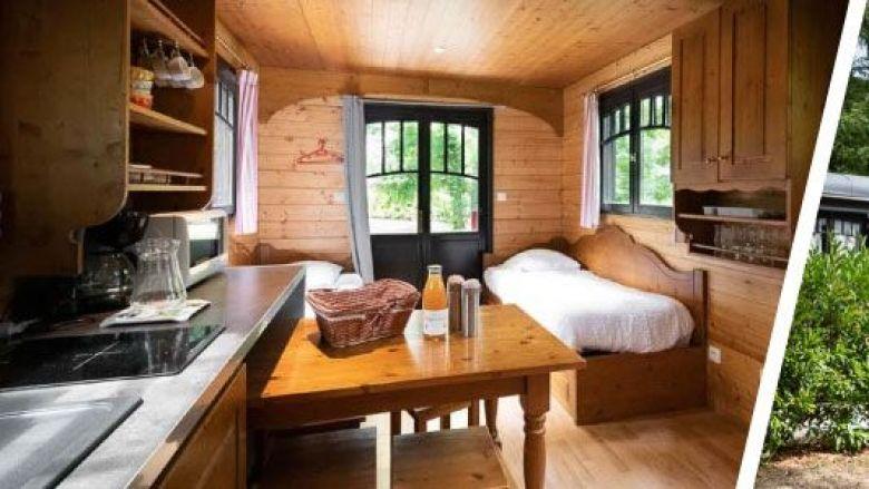 Les roulottes transformées en de petites chambres d'hôtel ! / © Slowmoov - Document remis