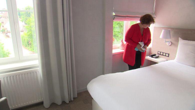 A l'hôtel Jenny à Hagenthal-le-Bas, l'heure est au soulagement après des semaines d'incertitude. / © V. Roy