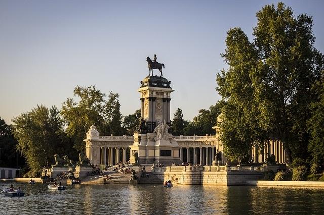 visiter Madrid parc retiro