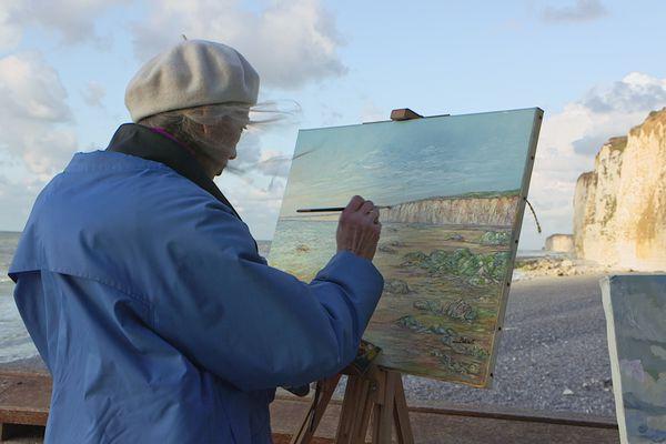 Les peintres de la côte d'Albâtre en Normandie