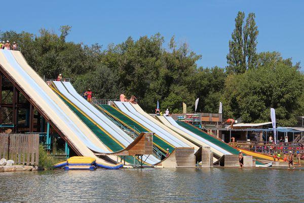 Le Drop'In, parc de loisirs aquatique de Vidauban, attire des centaines de touristes chaque année