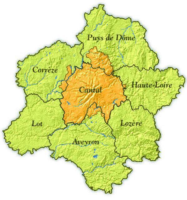 Le Cantal doit être produit dans une zone bien précise pour bénéficier du label AOP.