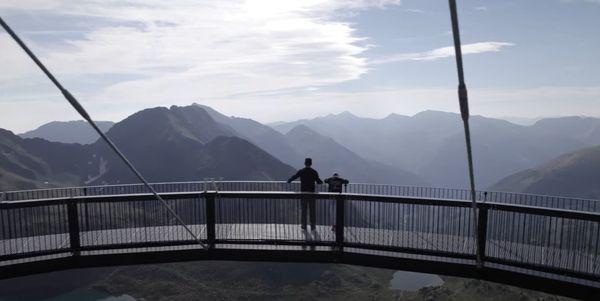 Le mirador offre une vue panoramique à 360 degrés !