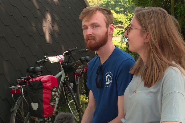 Sam et Lauriane s'offrent la Loire à vélo en ce mois de septembre 2021