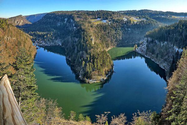 Le belvédère des 4 lacs - Panorama depuis le belvédère du bassin du Doubs