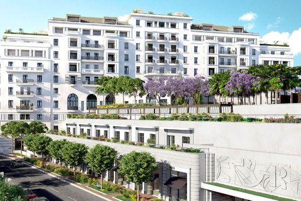 Voici ce à quoi devrait ressembler l'hôtel Provençal à la fin des travaux en 2024